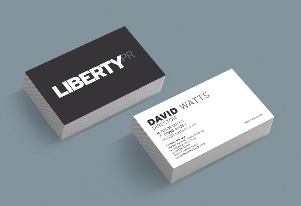 printed business cards libertypr