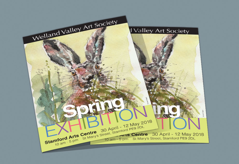 printed flyers and leaflets stamford arts centre